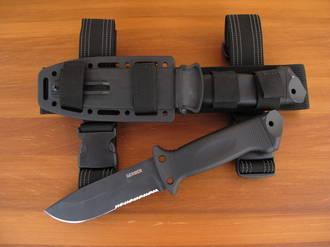 Gerber LMF II Infantry Tactical Fixed Blade Knife Black - 22-01629