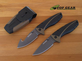 Gerber Myth Folding Hunting Knife - 31-001164 Drop-Point or 31-001160 Gut-Hook
