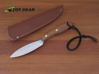 Grohmann #1 D.H. Russell Original Design Knife, Rosewood Handle - R1S