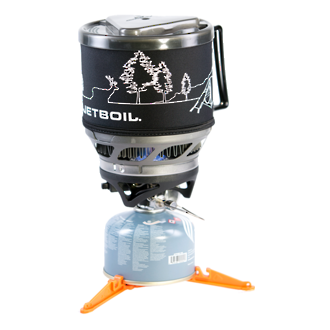 Jetboil Minimo Personal Cooking System, Carbon with Line Art - MNMO-CLA