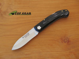 Joker Folding Sporting Lockback Knife - Buffalo Horn Handle NF99USA