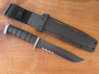 Ka-Bar D2 Extreme Tactical Fixed Blade Knife - 1283