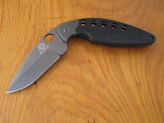 Ka-Bar TDI Law Enforcement Folding Knife; Black - Model 02-2482