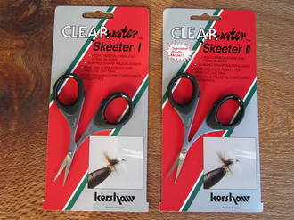 Kershaw Clearwater Skeeter I Fly Tying Scissors, Fine Edge - 1210