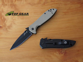 Kershaw Emerson CQC-4K Pocket Knife - 6054BRNBLK
