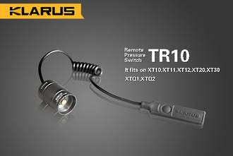 Klarus TR10 Remote Pressure Switch - Fits XT Series