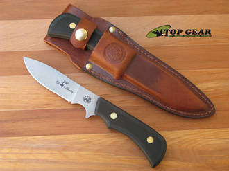 Knives of Alaska Elk Hunter Hunting Knife, D-2 Tool Steel, Black - 161FG
