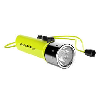 LED Lenser D14 Daylight LED Dive Torch, 300 Lumens - 9214W