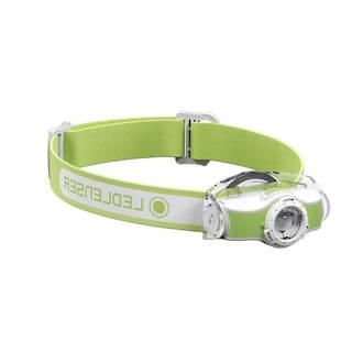 LED Lenser MH5 Rechargeable LED Headlamp 400 Lumens, Green - 501952