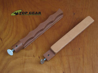 Lansky Leather Stropping Hone for Sharpening System - HSTROP