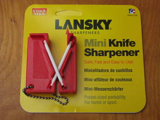 Lansky Mini Knife Sharpener - LCKEY