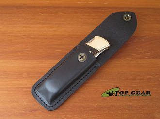 Buck 110 Folding Hunter Knife - Leather Replacement Pouch