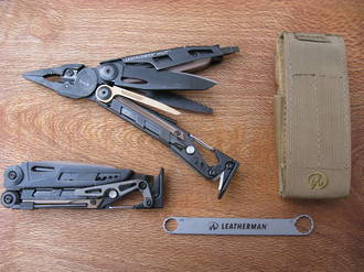 Leatherman MUT Black Multi-tool with Brown Molle Sheath - 850022