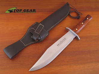 Linder Bowie Knife, Cocobolo Wood Handle, 25 cm - 176125