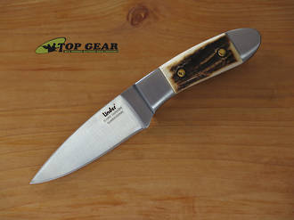 Linder Compact Hunter Knife, Staghorn Handle - 443308