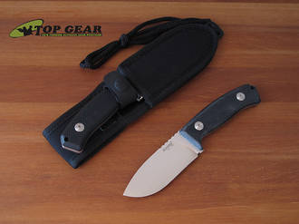 Lion Steel M2 Hunter Fixed Blade Knife, D2 Tool Steel, Micarta Handle - M2G10