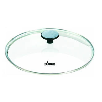 "Lodge Cast Iron 12"" - 30.5 cm Glass Lid for Lodge Cast Iron Pan - GL12"