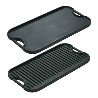 Lodge Cast Iron Cookware Pro Reversible Griddle - LPG13