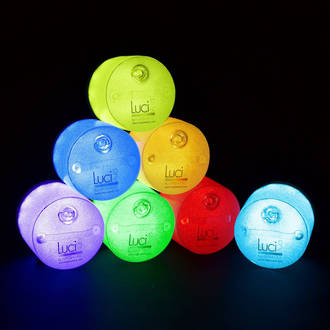 Luci Aura Inflatable Colour-Changing Solar Lantern - Mood Light
