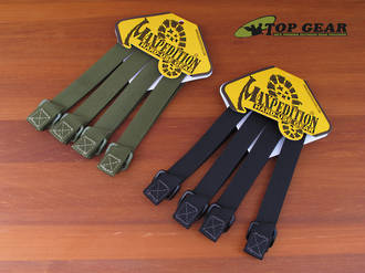 "Maxpedition 5"" Tac Tie Straps (4-Pack) - Black, Khaki or Olive"