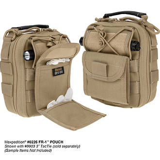 Maxpedition FR-1 Specialized Medical Pouch - Khaki 0226K