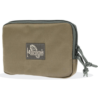 "Maxpedition Hook-&-Loop 5X7"" Zipper Pocket Pouch - 3525KF"