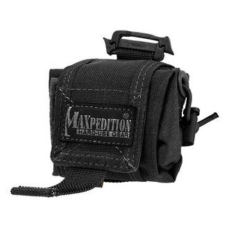 Maxpedition Mini Rollypoly Mini Dump Pouch, Black - 0207B