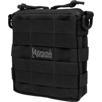 Maxpedition Tacticle Pocket Pouch - Medium Black 224B