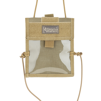 Maxpedition Traveler Passport Holder and Organizer - Khaki 0801K