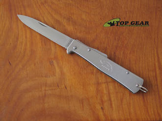 Mercator Folding Pocket Knife with Stainless Steel Handle - 10-826RG