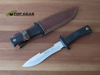 Muela Alce Survival Knife with Sawback Blade - 55-16