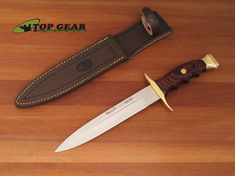 Muela BW-19 Fury Bowie Hunting Knife / Pig Sticker - BW-19