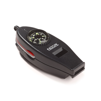 Ndur 6-in-1 Survival Compass with Whistle - 51550