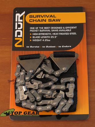 NDUR Commando Warrior Survival Chain Saw - 71030