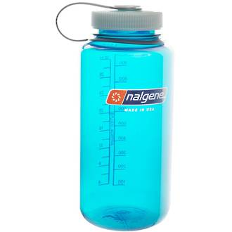 Nalgene Wide Mouth Drinking Bottle - 1 Litre Trout Green