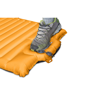 Nemo Cosmo Air 20R Sleeping Pad With Integrated Foot Pump - Skyburst Orange