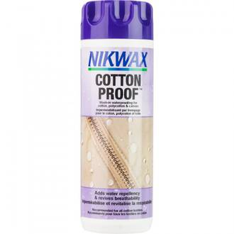 Nikwax Cotton Proof Wash-In Waterprofing for Cotton, Polycotton and Canvas Clothing