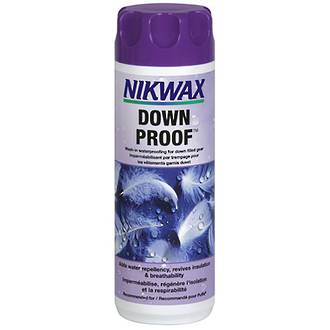 Nikwax Down Proof Wash-in Waterproofing for Down-filled Gear, 300 ml - 241-NZL