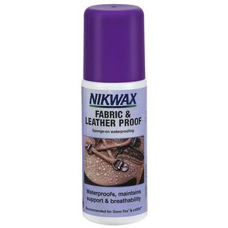 Nikwax Fabric and Leather Proof Spray-On Waterproofing, 125ml - 792-NZL