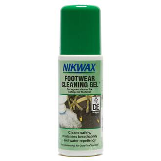 Nikwax Footwear Cleaning Gel, Sponge-On Cleaner for Waterproof Footwear - 821-NZL-125ml