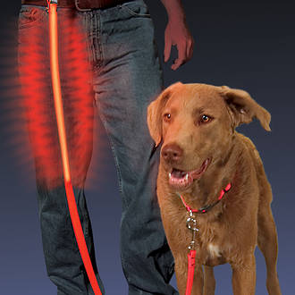 Nite Ize Nite-Dawg L.E.D. Pet Leash, Red - NNL-03-10