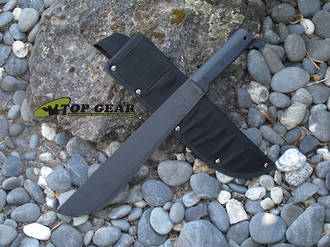 "Ontario CT1 12"" Camp and Trail Machete with Ballistic Nylon Sheath - 8295"