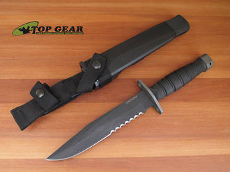 Ontario Chimera Tactical Fixed Blade Knife - 6515