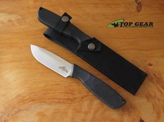 Ontario Hunt Plus Drop-Point Knife with Nylon Sheath - 97151