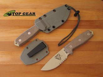 Ontario Knife Rat RC-3 Fixed Blade Knife - 1095 High Carbon Steel 86260