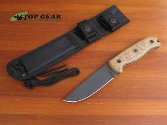 Ontario TAK-1 Survival Knife w 1095 High Carbon Steel Blade - 8602