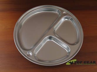 Open Country 11.5 Inch Compartment Plate - Aluminum