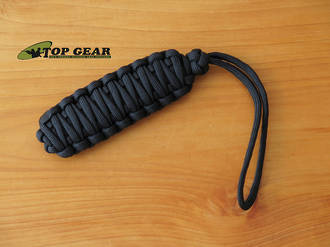 Paracord 550 Knife Lanyard, Black - GGC010