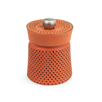 Peugeot Bali Cast Iron Pepper Mill, 8 cm, Orange - 35426