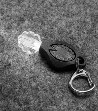 Photon Freedom + Micro Personal Safety Keychain Light - Black 540